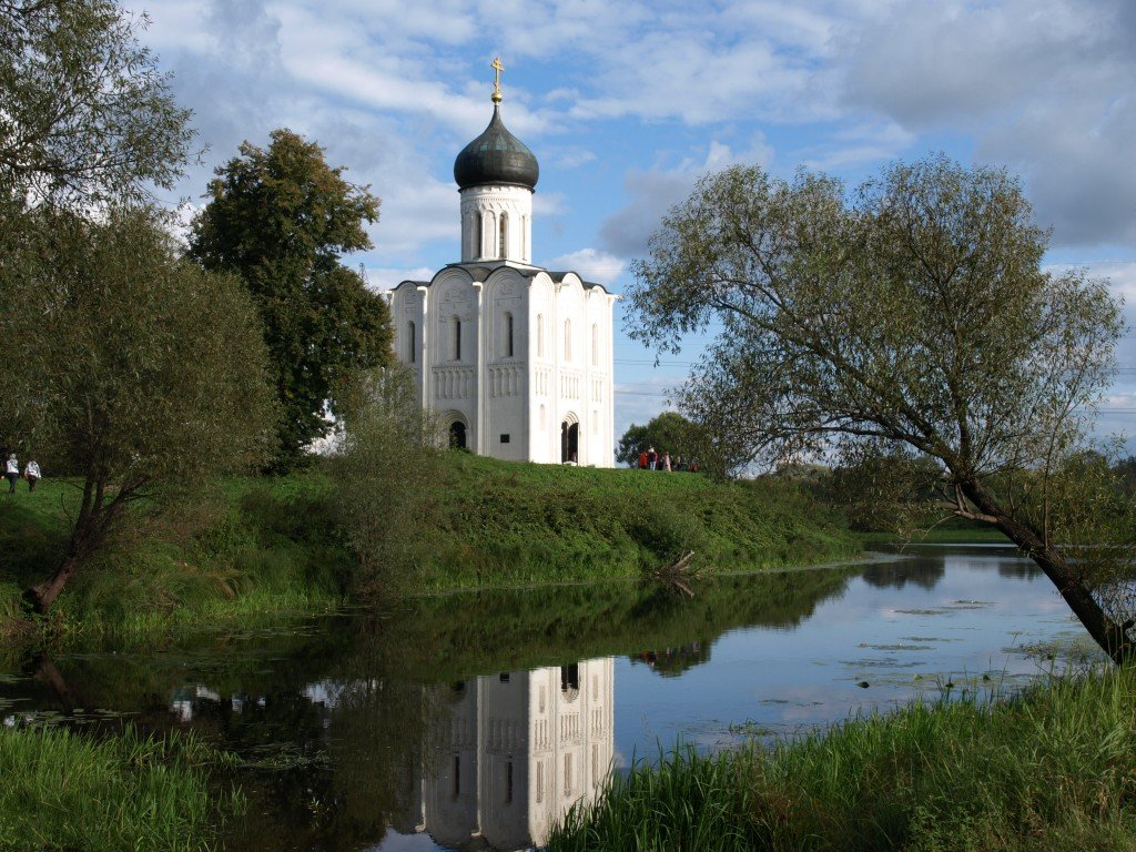 Church of the Intercession on the Nerl, Golden Ring, Russia