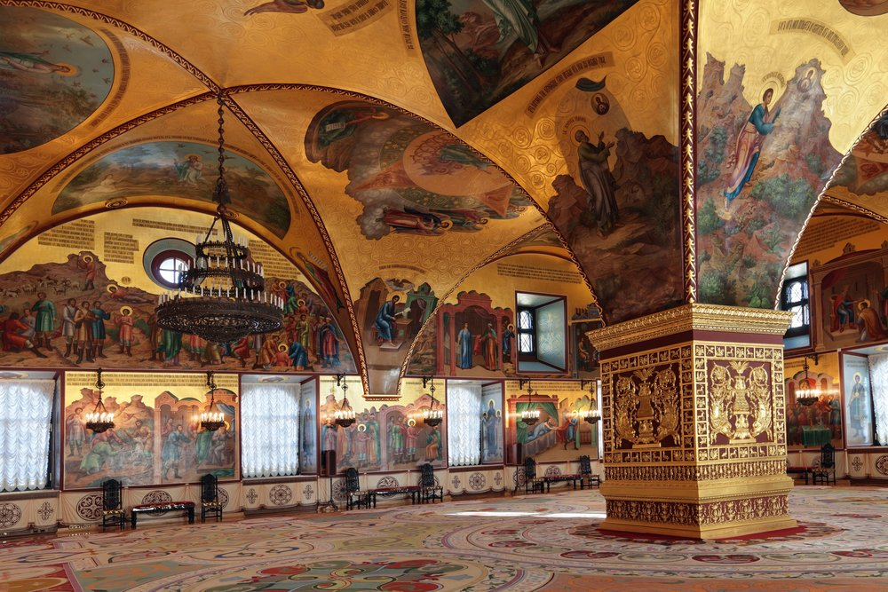 The Palace of Facets, Moscow Kremlin