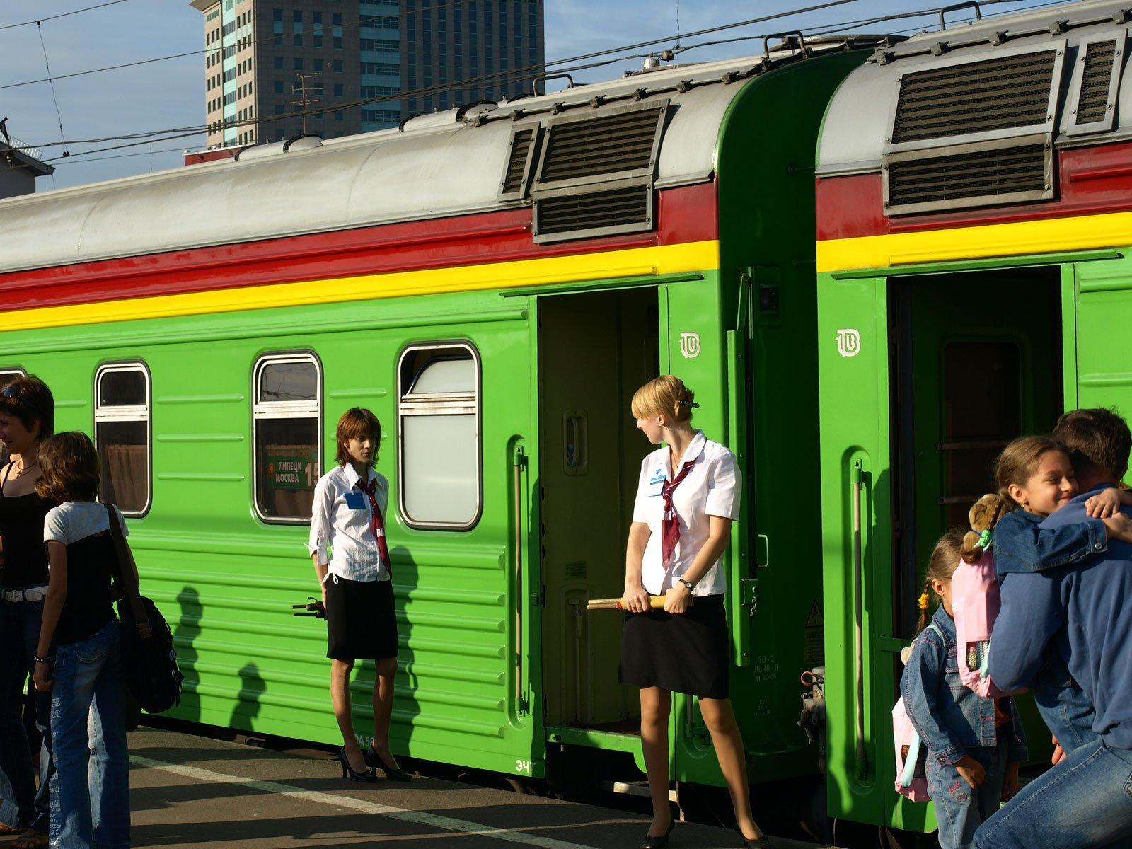 Train Attendants, Russia
