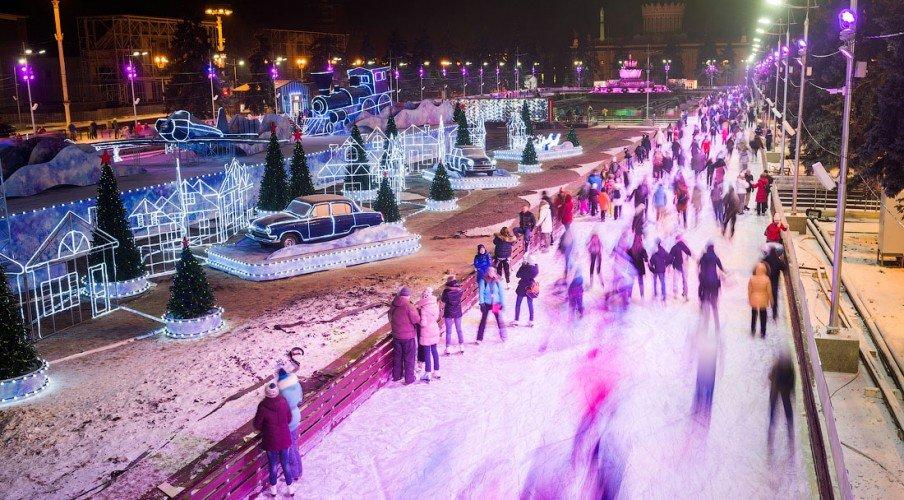 VDNH skating rink